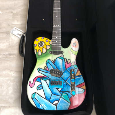 "Mucho Guitars Aluminati ""Crazy Diamond"" for sale"