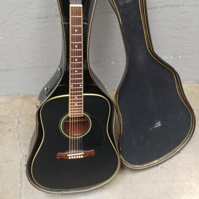 Fernandes PD30 Dreadnought  2002 Matte Black for sale