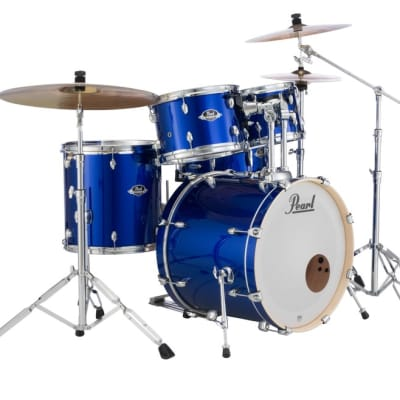 Pearl Export 5-pc. Drum Set w/Hardware Pack HIGH VOLTAGE BLUE EXX705N/C717