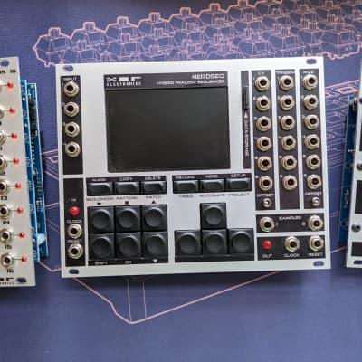 XOR Electronics NerdSEQ Hybrid Tracker Sequencer w/ Trigger16 & MIDI Expanders