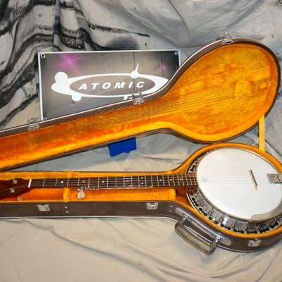 Vintage Ode Model 6510 5-string Banjo with Case for sale