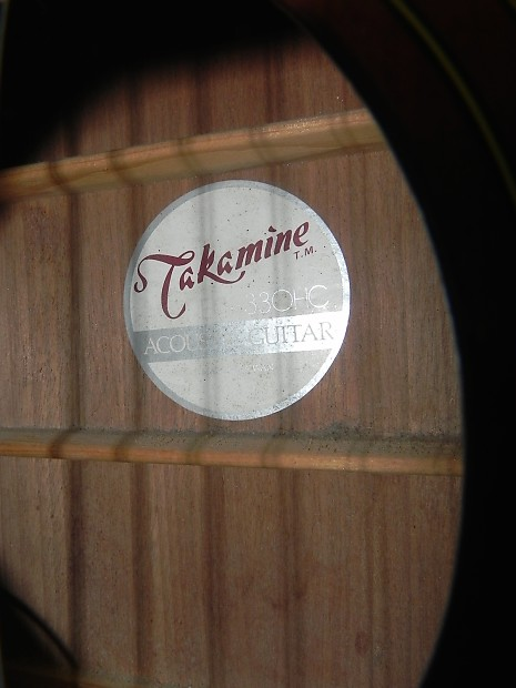 Takamine G Series Eg 330hc Dreadnought Acoustic Electric
