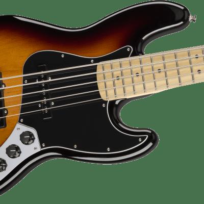 MINTY! Fender Deluxe Active Jazz Bass V Maple Board 3-Color Sunburst - Authorized Dealer SAVE BiG!!