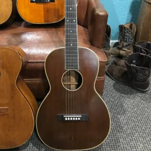 Lyon & Healy Washburn Parlor Slide Guitar 20s Mahogany for sale