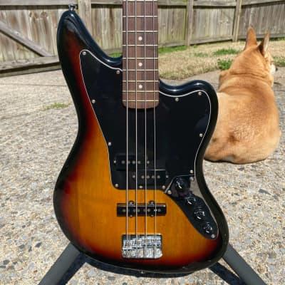 Squier Vintage Modified Jaguar Bass Special 2010s 3-Color Sunburst