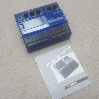 Vintage Digitech PDS 2000 Two Second Sampler Guitar Effect Pedal Delay Looper