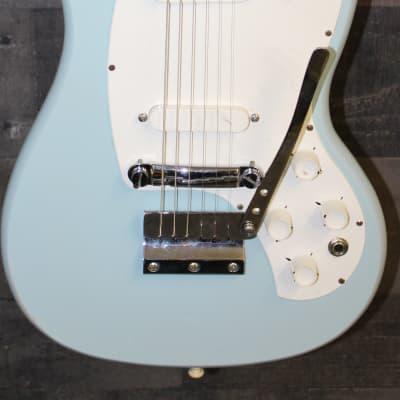 Kalamazoo KG-2a 1966 daphne blue for sale