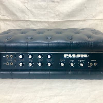 Vintage Plush P1000S Tube Guitar Amplifier Head Circa 1969 Tuck & Roll P-1000-S for sale