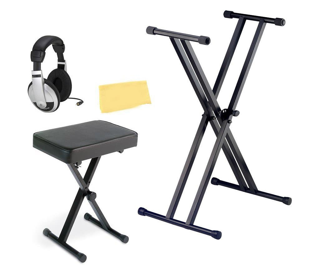Casio arbench x style keyboard bench bundle with ardx stand reverb Keyboard stand and bench