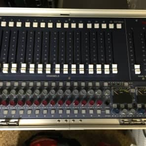 AMS Neve 8816 Summing Mixer with 8804 Fader Pack