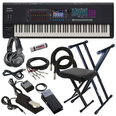 Roland Fantom-8 Workstation Keyboard - Key Essentials Bundle