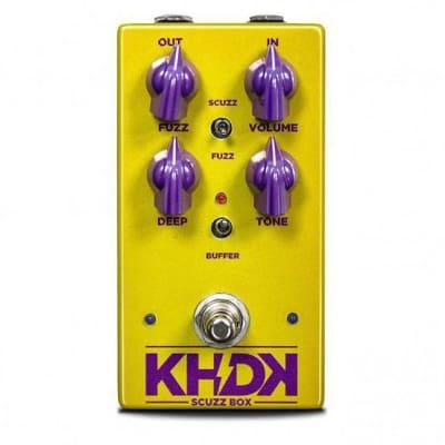 KHDK Electronics Kirk Hammett KHDKSB Scuzz Box Germanium Fuzz Pedal