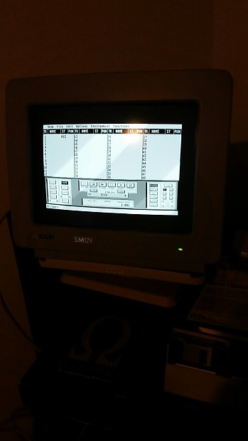 Vintage Atari ST 1040 STE 4 Meg Music Work Station, Monitor, MIDI Software,  Manuals, RARE!