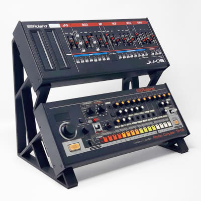 3DWaves Vertical Dual Tier Stands For The Roland Boutique Synthesizers And Drum Machines image