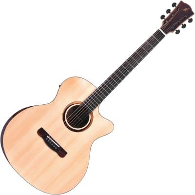Merida Diana DG-20KOAGACES Electro Acoustic Guitar - Natural for sale