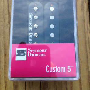 Seymour Duncan SH-14 Custom 5 Black Humbucker Guitar Pickup Bridge