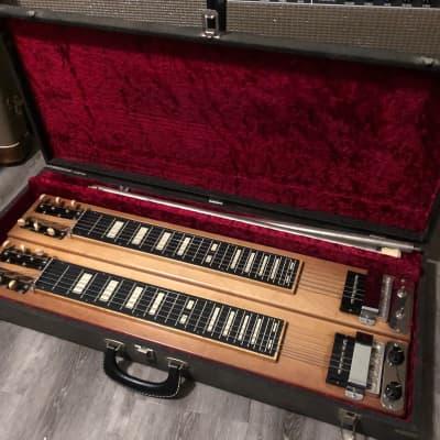 Vintage Carvin Lap Steel Guitar 1950's Blonde RARE OHSC for sale