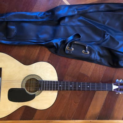 100% ORIGINAL VINTAGE 1979-92 MONTAYA F-29 NATURAL ACOUSTIC GUITAR, w/ GIG BAG for sale