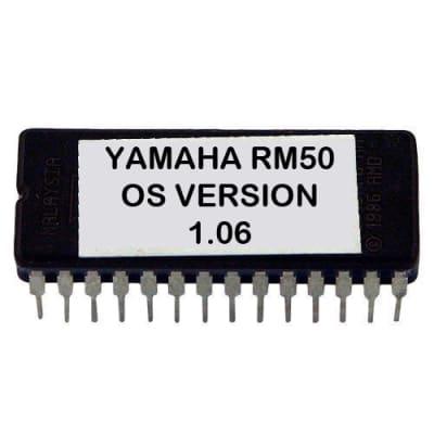 YAMAHA RM50 LATEST OS V 1.06 EPROM FIRMWARE UPGRADE UPDATE RM-50 EPROM