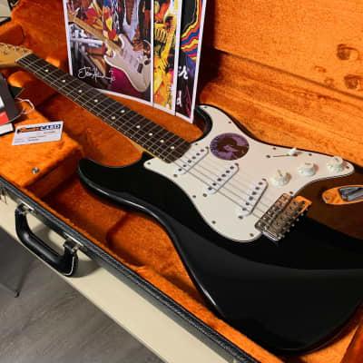 Fender Jimi Hendrix Voodoo Stratocaster 1997 Black Rare for sale