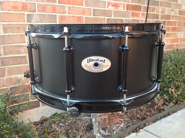 pearl uca6514 14x6 5 ultracast aluminum snare drum w reverb. Black Bedroom Furniture Sets. Home Design Ideas