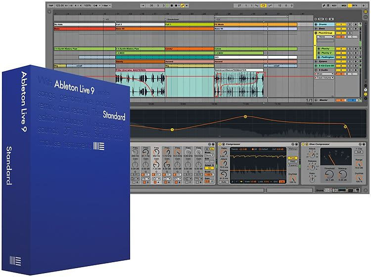 ableton live 9 standard upgrade from live lite download reverb. Black Bedroom Furniture Sets. Home Design Ideas