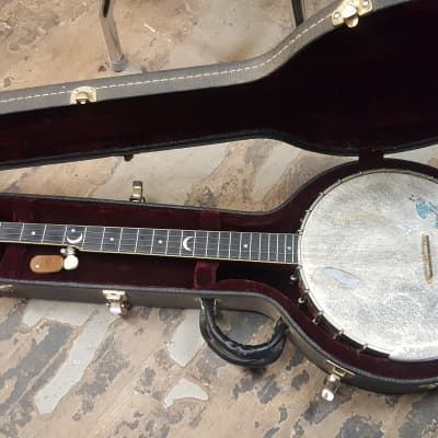 OME Jubilee Banjo 1994 Cherry Red for sale
