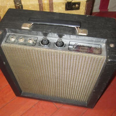 ~1965 Harmony Model H400A Black for sale