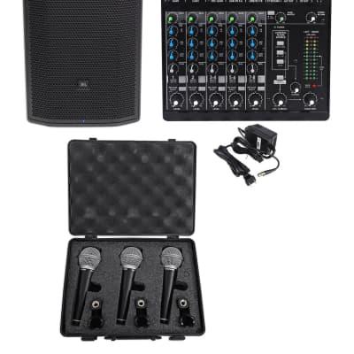 """afbaf88ad28 JBL Pro PRX835XW 15"""" 3-Way 1500w Active Speaker w/Wifi+Mackie"""