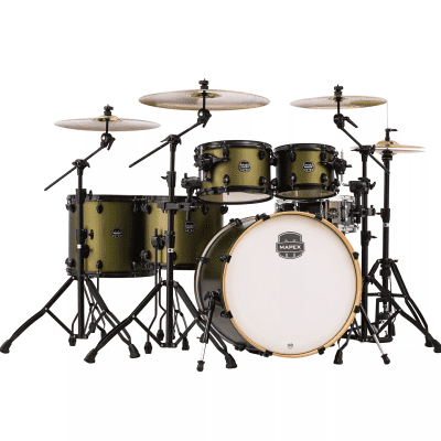 """Mapex AR628SFUB Armory 22x18/10x7/12x8/14x12/16x14/14x5.5"""" 6pc Studioease Fast Shell Pack with Black Hardware"""