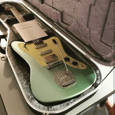 Deimel Firestar 2019 Venus Fern Green (vintage Jazzmaster Jaguar vintage Firebird style guitar) Authorized Deimal Guitar Works Dealer in the USA for sale