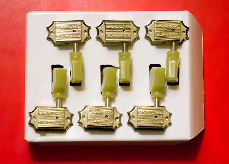Nickel Gibson Keystone Tuner Set