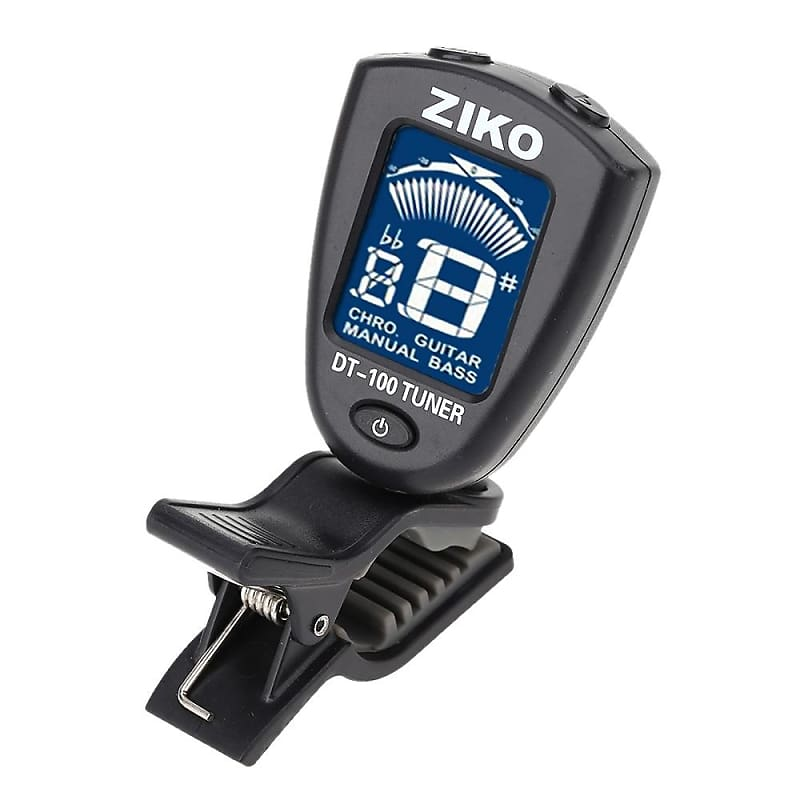 ziko guitar bass tuner dt 100 new discounts for dealers reverb. Black Bedroom Furniture Sets. Home Design Ideas