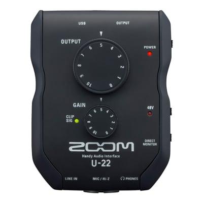 Zoom U-22 Handy USB Audio Interface