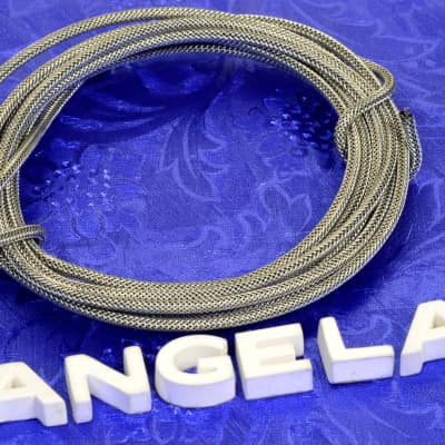 5 Feet Of Gavitt Vintage Style 22 Gauge Braided Shielded Single Conductor Wire For Gibson Pickups