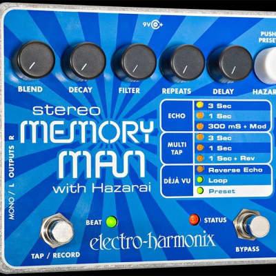 Electro Harmonix Stereo Memory Man Looper Pedal w/ Harazai Delay for sale