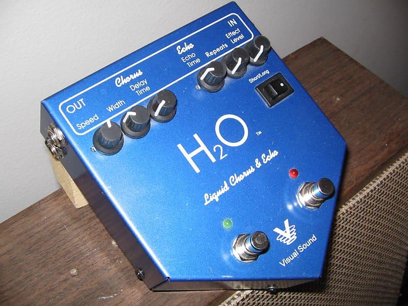visual sound h2o chorus delay blue reverb. Black Bedroom Furniture Sets. Home Design Ideas