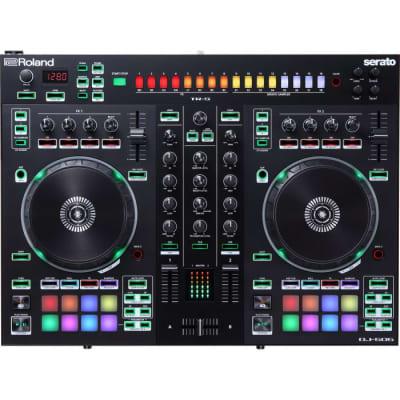 Roland DJ-808 4-Ch Serato DJ Performance Audio Interface Drum Machine Controller