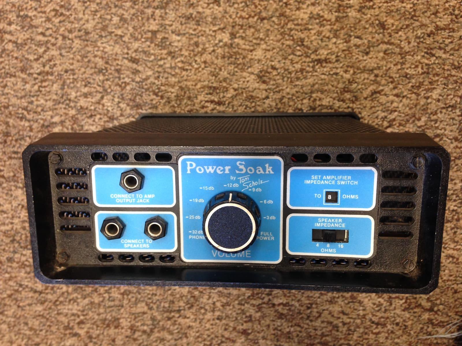 Tom Scholz R D Power Soak Model Ii Attenuator 1982