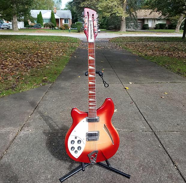 rare rickenbacker 360 12 left handed 12 string guitar reverb. Black Bedroom Furniture Sets. Home Design Ideas