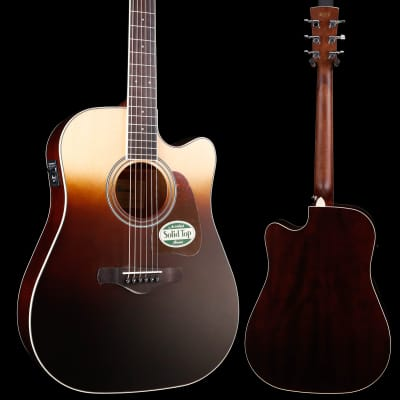 Ibanez AW80CEBLG Artwood, Brown Ale Gradation 971 4lbs 8.2oz for sale