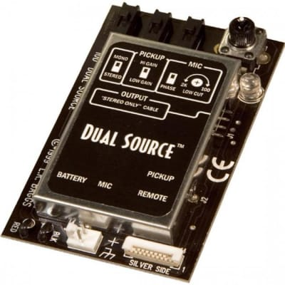 LR Baggs DSELE Dual Source Mixing Acoustic Guitar Pickup & Mic System for sale