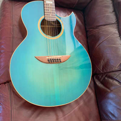 Versoul  Kenny Burrell jazz model 12 2008 Blue sunburst for sale