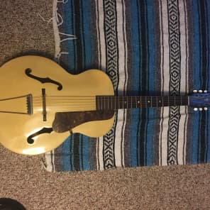 Lombardi Archtop 1940 Natural for sale