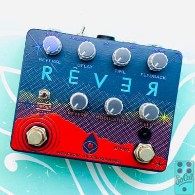 Old Blood Noise Endeavors Rever Limited Edition Rainbow w/Original Box!