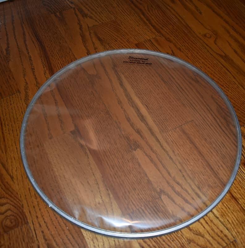 vintage slingerland 13 snare side drum head clear in reverb. Black Bedroom Furniture Sets. Home Design Ideas