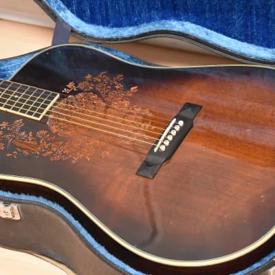 Hopf Fligrana + Case – 1980s Vintage Dreadnought Acoustic Guitar / Gitarre for sale