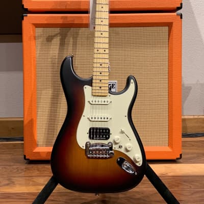 G&L Legacy HB 2015 3-Tone Sunburst w/ Hardshell Case for sale