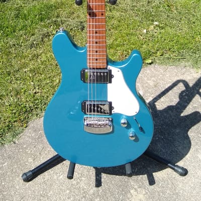 Ernie Ball Music Man James Valentine Signature Toluca Blue Roasted neck & Hardshell case MINT for sale