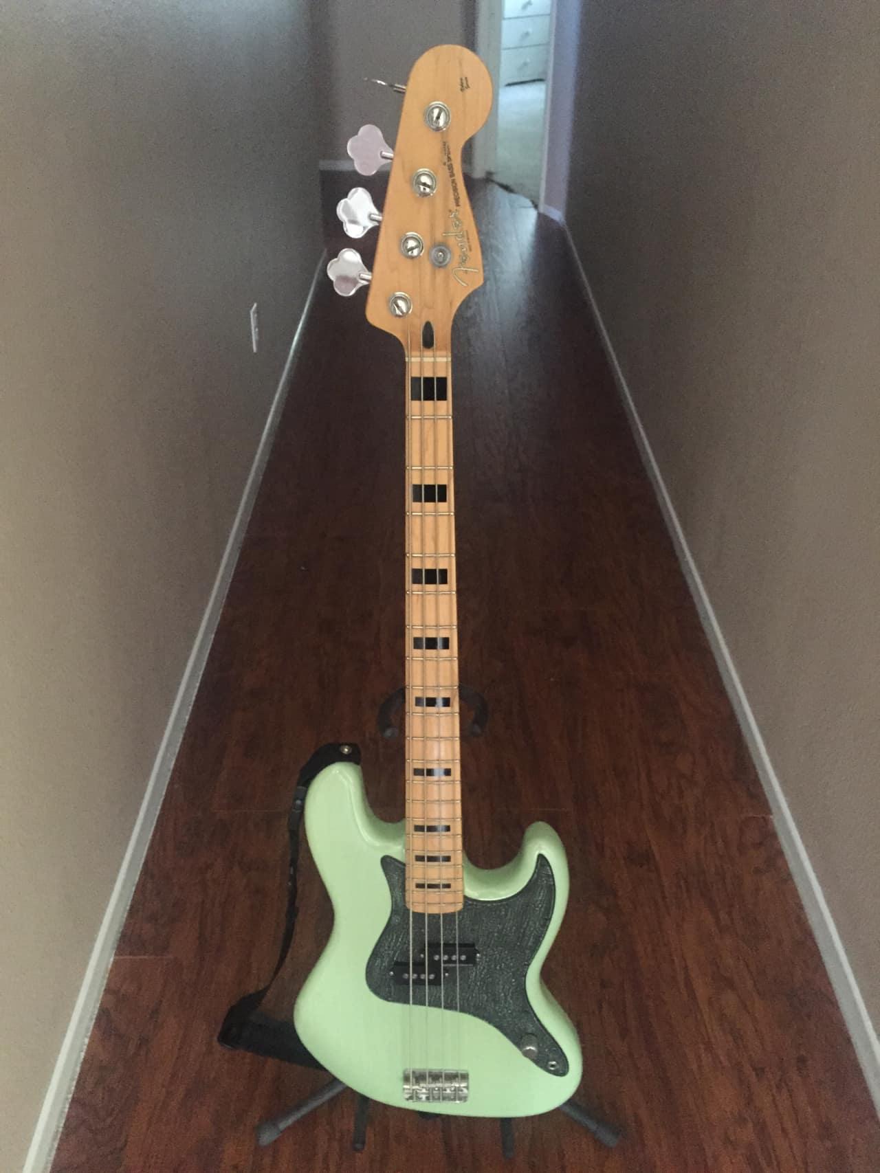 Fender Mark Hoppus Modded Precision Bass 2012 Surf Green